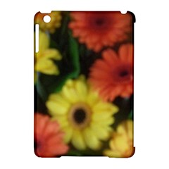 Orange Yellow Daisy Flowers Gerbera Apple iPad Mini Hardshell Case (Compatible with Smart Cover) by yoursparklingshop