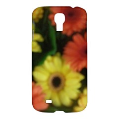 Orange Yellow Daisy Flowers Gerbera Samsung Galaxy S4 I9500/i9505 Hardshell Case by yoursparklingshop