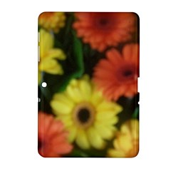 Orange Yellow Daisy Flowers Gerbera Samsung Galaxy Tab 2 (10 1 ) P5100 Hardshell Case  by yoursparklingshop