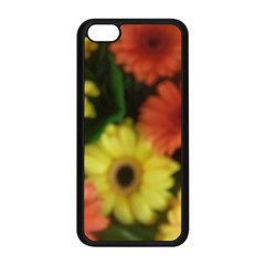 Orange Yellow Daisy Flowers Gerbera Apple Iphone 5c Seamless Case (black)