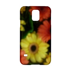 Orange Yellow Daisy Flowers Gerbera Samsung Galaxy S5 Hardshell Case  by yoursparklingshop