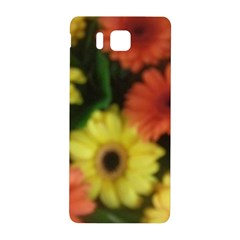 Orange Yellow Daisy Flowers Gerbera Samsung Galaxy Alpha Hardshell Back Case