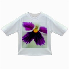 Inside Purple White Violet Flower Baby T Shirt