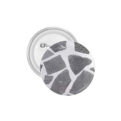Grey White Tiles Pattern 1 75  Button