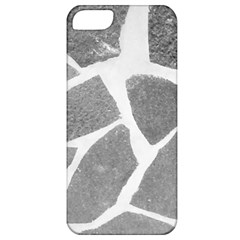 Grey White Tiles Pattern Apple Iphone 5 Classic Hardshell Case