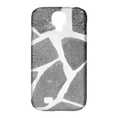 Grey White Tiles Pattern Samsung Galaxy S4 Classic Hardshell Case (pc+silicone) by yoursparklingshop