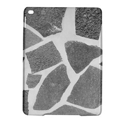 Grey White Tiles Pattern Apple Ipad Air 2 Hardshell Case by yoursparklingshop