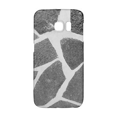 Grey White Tiles Pattern Samsung Galaxy S6 Edge Hardshell Case