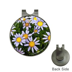 Yellow White Daisy Flowers Hat Clip With Golf Ball Marker by yoursparklingshop