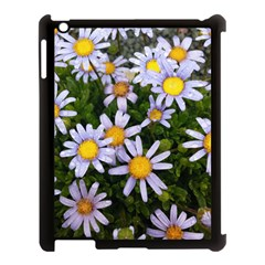 Yellow White Daisy Flowers Apple iPad 3/4 Case (Black) by yoursparklingshop