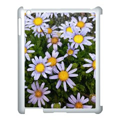 Yellow White Daisy Flowers Apple Ipad 3/4 Case (white) by yoursparklingshop