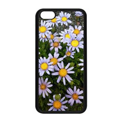 Yellow White Daisy Flowers Apple Iphone 5c Seamless Case (black)