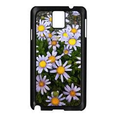 Yellow White Daisy Flowers Samsung Galaxy Note 3 N9005 Case (black)