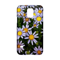 Yellow White Daisy Flowers Samsung Galaxy S5 Hardshell Case