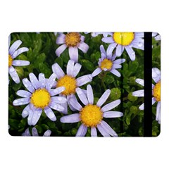 Yellow White Daisy Flowers Samsung Galaxy Tab Pro 10 1  Flip Case by yoursparklingshop