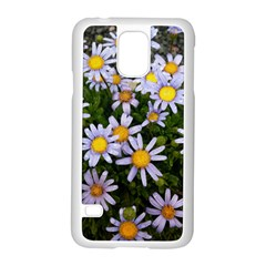 Yellow White Daisy Flowers Samsung Galaxy S5 Case (white)