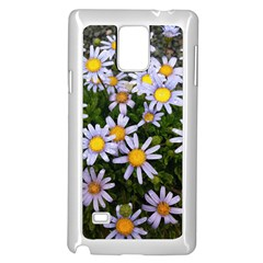 Yellow White Daisy Flowers Samsung Galaxy Note 4 Case (white) by yoursparklingshop