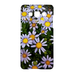 Yellow White Daisy Flowers Samsung Galaxy A5 Hardshell Case