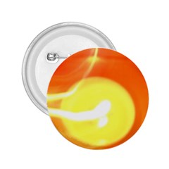 Orange Yellow Flame 5000 2 25  Button by yoursparklingshop