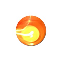 Orange Yellow Flame 5000 Golf Ball Marker 10 Pack by yoursparklingshop