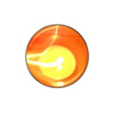 Orange Yellow Flame 5000 Golf Ball Marker (for Hat Clip) by yoursparklingshop