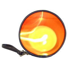 Orange Yellow Flame 5000 Cd Wallet