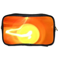 Orange Yellow Flame 5000 Travel Toiletry Bag (two Sides) by yoursparklingshop