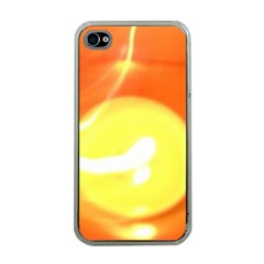 Orange Yellow Flame 5000 Apple Iphone 4 Case (clear) by yoursparklingshop