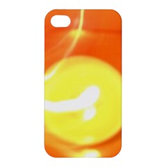 Orange Yellow Flame 5000 Apple Iphone 4/4s Premium Hardshell Case by yoursparklingshop