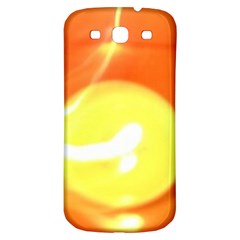 Orange Yellow Flame 5000 Samsung Galaxy S3 S Iii Classic Hardshell Back Case by yoursparklingshop