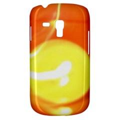 Orange Yellow Flame 5000 Samsung Galaxy S3 Mini I8190 Hardshell Case by yoursparklingshop