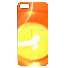 Orange Yellow Flame 5000 Apple Iphone 5 Hardshell Case With Stand by yoursparklingshop