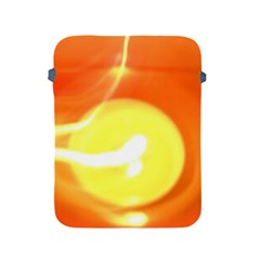 Orange Yellow Flame 5000 Apple Ipad Protective Sleeve