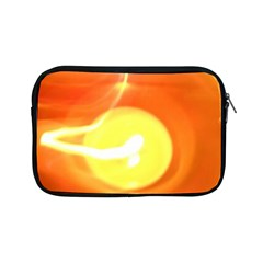 Orange Yellow Flame 5000 Apple Ipad Mini Zippered Sleeve