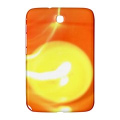Orange Yellow Flame 5000 Samsung Galaxy Note 8 0 N5100 Hardshell Case  by yoursparklingshop