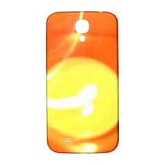 Orange Yellow Flame 5000 Samsung Galaxy S4 I9500/i9505  Hardshell Back Case by yoursparklingshop