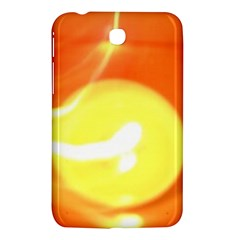 Orange Yellow Flame 5000 Samsung Galaxy Tab 3 (7 ) P3200 Hardshell Case  by yoursparklingshop