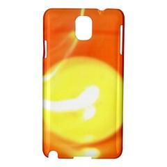 Orange Yellow Flame 5000 Samsung Galaxy Note 3 N9005 Hardshell Case