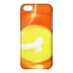 Orange Yellow Flame 5000 Apple Iphone 5c Hardshell Case by yoursparklingshop