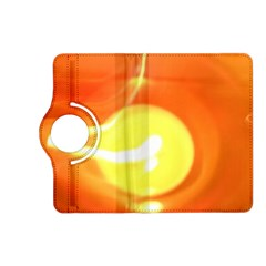 Orange Yellow Flame 5000 Kindle Fire Hd (2013) Flip 360 Case by yoursparklingshop
