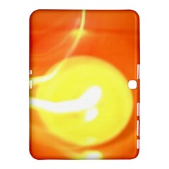 Orange Yellow Flame 5000 Samsung Galaxy Tab 4 (10 1 ) Hardshell Case  by yoursparklingshop