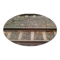 Railway Track Train Magnet (oval)