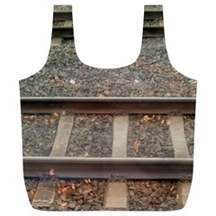 Railway Track Train Reusable Bag (xl)
