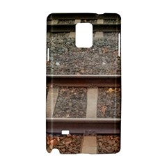 Railway Track Train Samsung Galaxy Note 4 Hardshell Case by yoursparklingshop