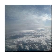 Sky Plane View Ceramic Tile