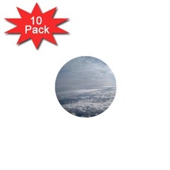 Sky Plane View 1  Mini Button (10 Pack)