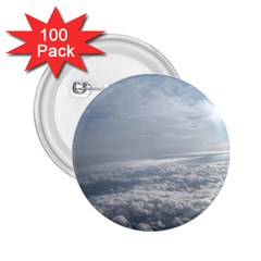 Sky Plane View 2 25  Button (100 Pack)