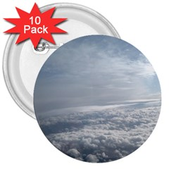 Sky Plane View 3  Button (10 Pack)