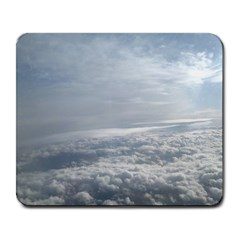 Sky Plane View Large Mouse Pad (rectangle)