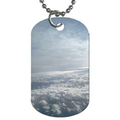 Sky Plane View Dog Tag (one Sided)
